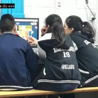 Alumnos de Patronato de la infancia aprendiendo con Accelium